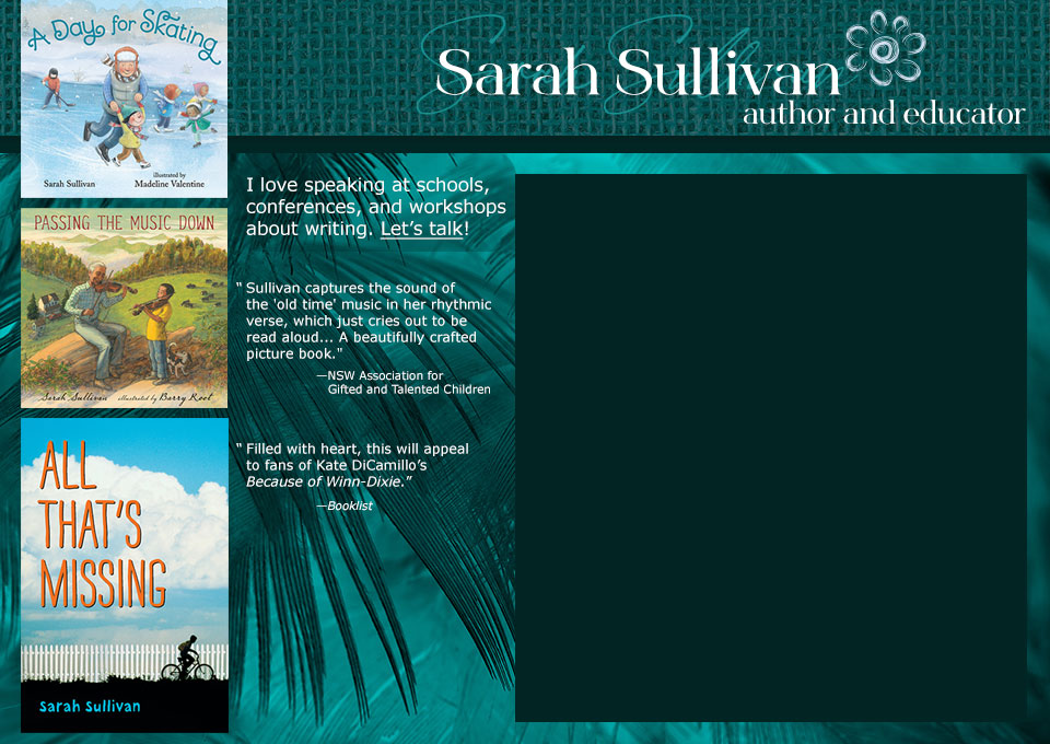 Sarah Sullivan author